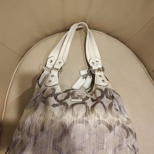 COACH MADISON OP ART IKAT MAGGIE BAG 15048 PURSE